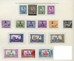 Tunisie - Tunesien - Tunisia 1923 Y&T N°79 à 84 - Michel N°95 à 108 * - Sites Divers - Tunisie (1888-1955)