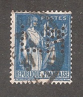 Perforé/perfin/lochung France No 288  L.M L. Molon - Perforés