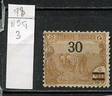 Tunisie - Tunesien - Tunisia 1923-25 Y&T N°98 - Michel N°93 Nsg - 30cs20c Laboureurs - Tunisie (1888-1955)