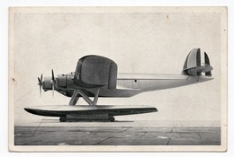 1930s ITALY, HYDROPLANE, ILLUSTRATED POSTCARD, MINT - Milano (Milan)