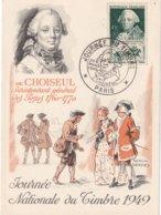 FRANCE - Carte-Maximum FDC - Journée Du Timbre 1949 à Paris - Cartes-Maximum