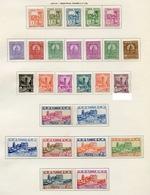Tunisie - Tunesien - Tunisia 1926-28 Y&T N°120 à 145 - Michel N°120 à 145 * - Sites Divers - Tunisie (1888-1955)