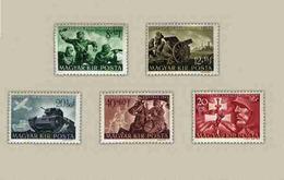 Hungary 1941. Soldiers Nice Set MNH (**) Michel: 682-686 - Ungarn