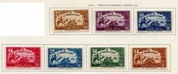 Tunisie - Tunesien - Tunisia 1928 Y&T N°147 à 153 - Michel N°155 à 161 * - Bienfaisance - Tunisie (1888-1955)