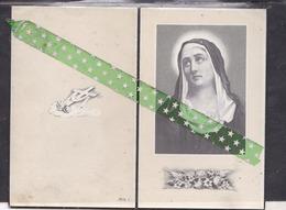 Joannes Isidoor Goris-Van Doninck, Geboren Geel 1901, Overleden Sint-Pieters-Lille 1957 - Décès