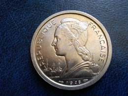 La Réunion  2 Francs 1948   -- UNC -- - Kolonies