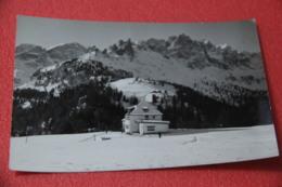 Bolzano No Trento Dolomiti Di Fassa Rifugio Ciampedie 1965 + Timbro CAI - Italia