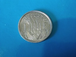 La Réunion  1 Franc 1948   -- UNC -- - Colonie