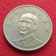 Taiwan 10 Yuan 1992 / 81 Y# 553  Lt 223 China Formosa Chine - Taiwán