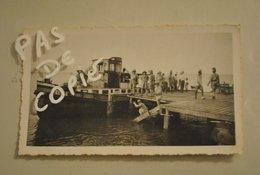 Afrique Cameroun Manoka Le Wharf Depart D Un Bateau - Afrique