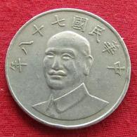 Taiwan 10 Yuan 1989 / 78 Y# 553  Lt 384 China Formosa Chine - Taiwán