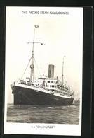 AK Passagierschiff SS Orduna, Pacific Steam Navigation Co. - Steamers