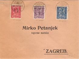 1919 Busta (vedi 2 Foto) - 1919-1929 Royaume Des Serbes, Croates & Slovènes