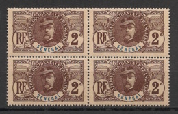 Sénégal - 1906 - N°Yv. 31A - Faidherbe 2c - Bloc De 4 - Neuf GC ** / MNH / Postfrisch - Nuevos