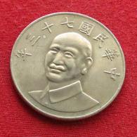 Taiwan 10 Yuan 1984 / 73 Y# 553 Lt 464  China Formosa Chine - Taiwán