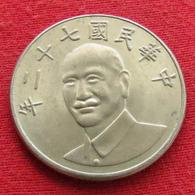 Taiwan 10 Yuan 1983 / 72 Y# 553  Lt 321 *V2  China Formosa Chine - Taiwán