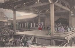 Japan, No Dance Theatre Performance C1900s/10s Vintage Postcard - Japan