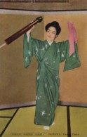 Okinawa Japan, Traditional Hand Dance Performance C1950s Vintage Postcard - Japan