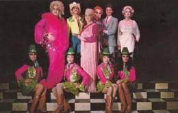 Female Impersonators Drag Queen Cross-dressing, Finnochio's Club San Francisco Advertisement C1980s Vintage Postcard - Entertainers