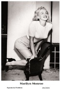 MARILYN MONROE - Film Star Pin Up PHOTO POSTCARD - 201-1025 Swiftsure Postcard - Berühmt Frauen