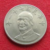 Taiwan 10 Yuan 1982 / 71 Y# 553  Lt 372  China Formosa Chine - Taiwán