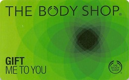 The Body Shop Gift Card - Cartes Cadeaux