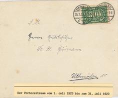 Infla Namslau 300 Mark - Allemagne