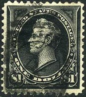 US #261A XF Used $1 Perry (Type II) From 1894 - Used Stamps