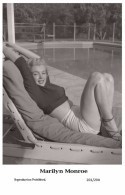 MARILYN MONROE - Film Star Pin Up PHOTO POSTCARD- Publisher Swiftsure 2000 (201/294) - Mujeres Famosas