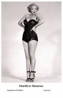 MARILYN MONROE - Film Star Pin Up PHOTO POSTCARD- Publisher Swiftsure 2000 (201/345) - Mujeres Famosas
