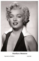 MARILYN MONROE - Film Star Pin Up PHOTO POSTCARD- Publisher Swiftsure 2000 (201/368) - Mujeres Famosas