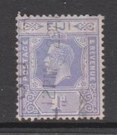 Fiji SG 231 1927 King George V 1d Violet,used - Fiji (1970-...)