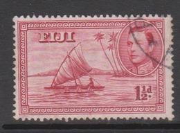 Fiji SG 252 1938-55  King George VI 3 Half Penny,used - Fiji (1970-...)