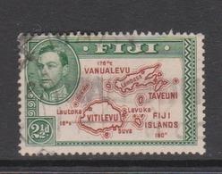 Fiji SG 256 1938-55  King George VI 2.5d Brown And Green,used - Fiji (1970-...)