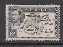 Fiji SG 260  1938-55  King George VI 6d Black,used - Fiji (1970-...)