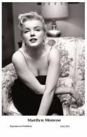MARILYN MONROE - Film Star Pin Up PHOTO POSTCARD- Publisher Swiftsure 2000 (201/353) - Mujeres Famosas