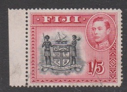 Fiji SG 263 1938-55  King George VI 1s,5d Black And Carmine,Used - Fiji (1970-...)