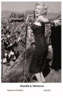 MARILYN MONROE - Film Star Pin Up PHOTO POSTCARD- Publisher Swiftsure 2000 (201/499) - Mujeres Famosas