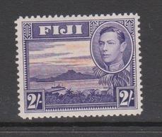 Fiji SG 264 1938-55  King George VI Two Shilings Violet And Orange,Mint  Hinged - Fiji (1970-...)