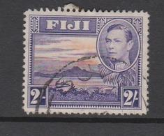 Fiji SG 264 1938-55  King George VI Two Shilings Violet And Orange,used - Fiji (1970-...)