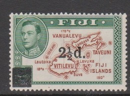 Fiji SG 267 1941 Overprinted 2.5d On 2d,mint Hinged - Fiji (1970-...)