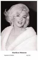 MARILYN MONROE - Film Star Pin Up PHOTO POSTCARD- Publisher Swiftsure 2000 (201/335) - Mujeres Famosas