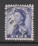 Fiji SG 284 1954 Queen Elizabeth II Definitives,2.5d Blue Violet,used - Fiji (1970-...)