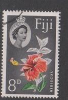 Fiji SG 304 1959-63 Queen Elizabeth II Definitives 8d  Flower,used - Fiji (1970-...)