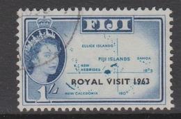 Fiji SG 327 1963 Royal Visit,used - Fiji (1970-...)
