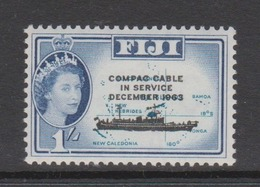 Fiji SG 335 1963 Opening Of COMPAC Cable ,mint Never Hinged - Fiji (1970-...)