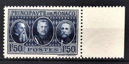 MONACO 1924 / 33  - Y.T. N° 112 - NEUF ** - Monaco
