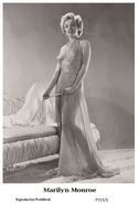 MARILYN MONROE - Film Star Pin Up PHOTO POSTCARD - P721-1 Swiftsure Postcard - Artistas
