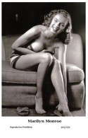 MARILYN MONROE - Film Star Pin Up PHOTO POSTCARD- Publisher Swiftsure 2000 (201/331) - Artistas