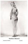 MARILYN MONROE - Film Star Pin Up PHOTO POSTCARD- Publisher Swiftsure 2000 (201/699) - Artistas
